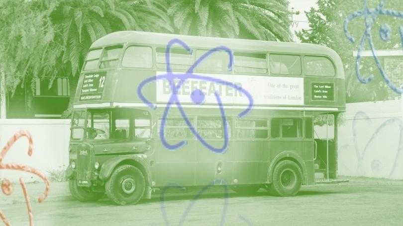 Bus With Atomic Symbols